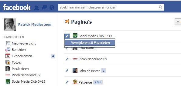 Hoe kan ik favorieten toevoegen aan mijn Facebook ...