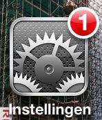 instellingen iPad iPhone