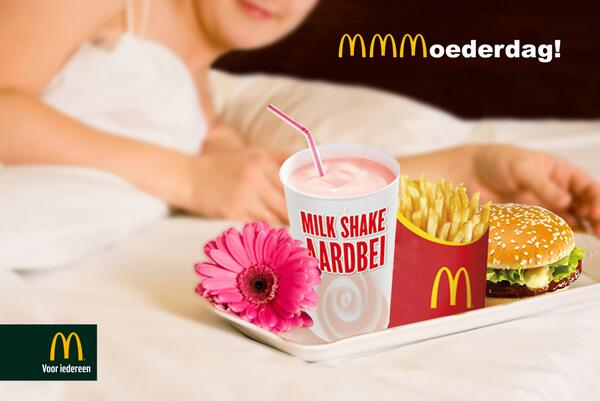 mac donalds inhaker moederdag
