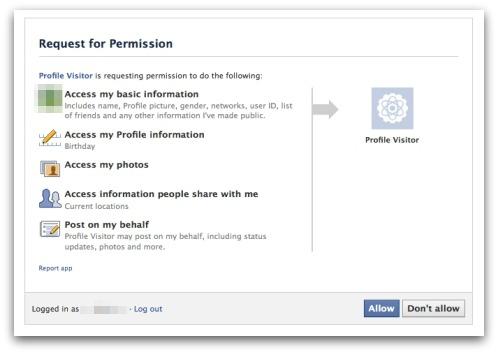 Let op Facebook Scam Facebook Profile Viewers